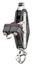 Sprenger | 12mm | 2 Rollen | Violinblock | Großschotblock | Patentschäkel HT13