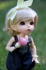 1/8 Bjd SD Little Cute Girl Doll With Free Face Make Up+ Free Eyes