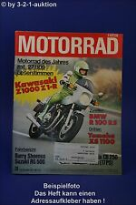 Motorrad 26/77 BMW R100 RS Kawasaki Z 100 Honda CB 250