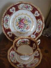 Royal Albert Lady Hamilton 3pc Set Fine Bone Vintage China Never Used