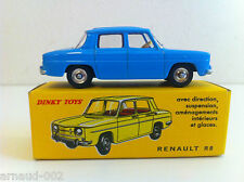 Dinky Toys Atlas - Renault 8 avec fascicule et certificat