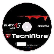 Tecnifibre Black Code 4S Tennis String - 200m - Reel 1.30mm / 16G  - Free UK P&P
