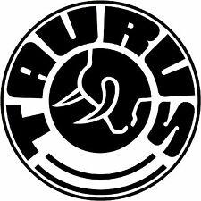 Taurus Firearms Logo Decal Vinyl Decal Sticker 4 Stickers