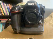 Nikon D D4 16.2 MP Digital SLR Camera - Black (Body Only) Please Read