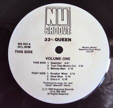 """33 1/3 Queen – Volume One 1990 HOUSE CLASSIC - USA Nu Groove 12"""""""