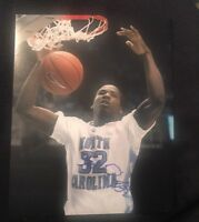 ED DAVIS SIGNED 8X10 PHOTO UNC NORTH CAROLINA NCAA NBA C W/COA+PROOF RARE WOW