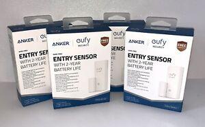 4 Eufy Security Entry Sensor Detect Open/Close Doors/Windows Sends Alert to APP