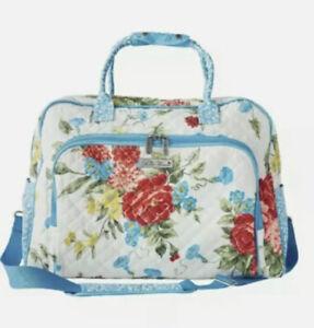 Pioneer Woman Sweet Rose Quilted Weekend Travel Tote Carryon Case