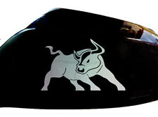 Bull Raton Car Sticker Wing Mirror Styling Decals (Set of 2), Chrome