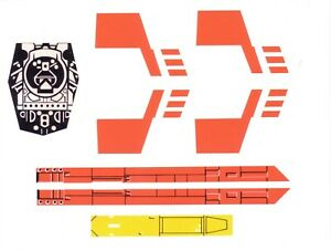 STAR WARS - KENNER - PALITOY 1978-82 X-WING FIGHTER REPLACEMENT STICKER SET