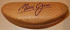Maui Jim Basket Weave Clam Hard Sun Glasses Case Sunglasses Holder