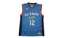 Maillot basket vintage Thunder Oklahoma City N°13 Adams NBA