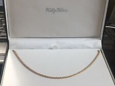 """18"""" rope chain gold finish """"Kelly Waters""""  (EB-9)"""