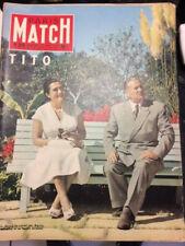 PARIS MATCH N°370 de 1956 - TITO  CA105