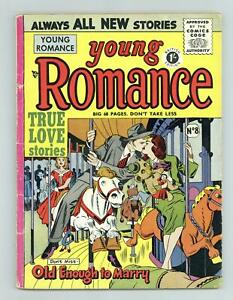 Young Romance UK Edition #8UK VG- 3.5 1953