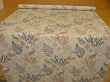13 Metres Kielder Wild Hares Linen Cotton Curtain Upholstery Quilting Fabric