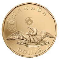 Canada 2012 Olympic Lucky Loonie $1 BU UNC From Mint Roll!!
