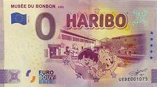 BILLET 0  EURO MUSEE DU BONBON  FRANCE   2021 NUMERO DIVERS