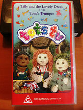 TOTS TV - TILLY AND THE LOVELY DRESS - Vol 01 & 02 - VHS