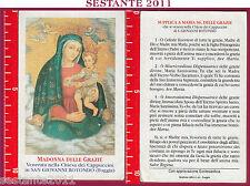 302 SANTINO HOLY CARD S. MARIA MADONNA  DELLE GRAZIE