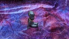 Vintage Hagenauer Bronze Sitting African Baby Figure Statue Figurine