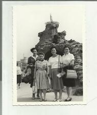 91918 FOTOGRAFIA FOTO ORIGINALE BIARRITZ 1960