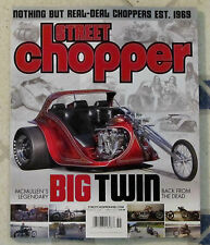 STREET CHOPPER Magazine BIG TWIN McMullen Legendary Bike SAILOR JERRY POSTER New