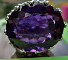 Ovale Echte Edelstein-Ringe aus Sterlingsilber mit Tansanit für Damen