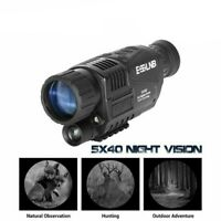 5X40 Monocular Night Vision Infrared Camera Digital Telescope Navigation Device