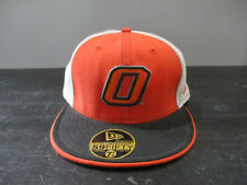 New Era Oklahoma State Cowboys Hat Cap Fitted Size 7 5/8 Orange Football OSU *