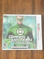 Green Lantern: Rise of the Manhunters (Nintendo 3DS, 2011) Complete Tested