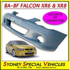 BA FALCON XR8 XR6 FRONT BUMPER BAR IN PLASTIC FITS BA BF SEDAN UTES XR NEW