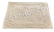 tappeto stile sardo STINTINO con coralli e stelle marine 100% cotone120x180 cm