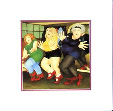 Beryl Cook Dance Class Mounted Print