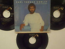 LOT OF 4 ' EARL THOMAS CONLEY' HIT 45's+1PS    THE 80's!