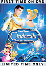 Cinderella (Two-Disc Special Edition, Dvd) Platinum Edition - Tested - Nice!