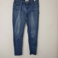 Paige Womens Verdugo Ankle Skinny Jean Medium Wash Size 27