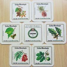 Bierdeckel Serie Sammlung Lich Hessen Licher Bierologie - Waldfrüchte 1985