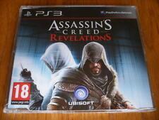 Attentäter Creed Enthüllungen Promo-PS3 ~ NEU & VERSIEGELT (volle Werbe Spiel)