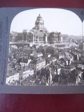 Stereo View Stereo Card - Brussels Belgium