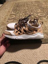 Rare Nike Air Zoom chalapuka mens running shoes used size 10 Cutout Vachetta Tan