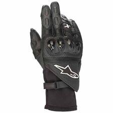 Alpinestars GP X V2 Leather Black Sport Race Motorcycle Gloves New