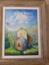 tableau; Huile sur toile signée LEON BELLOT (1893/1976).Peintre de Sancoins(18)