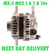 MAZDA MX-5 MK2 1.6 1.8 16v 1998 1999 2000 2001 2002 2003 to 2005 ALTERNATOR
