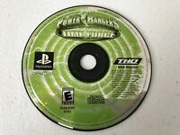 Power Rangers Time Force - Playstation 1 PS1 - Cleaned & Tested