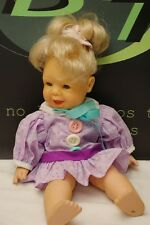 Famosa 1995 Doll Blonde Baby 15""