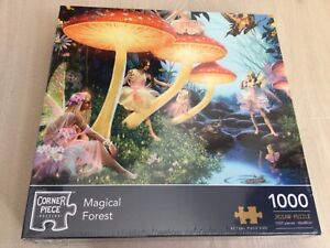 MAGICAL FOREST 1000 PIECE NEW SEALED JIGSAW PUZZLE (THE WORKS)