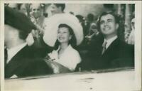 Marriage Rita Hayworth and Aly Khan - Vintage photograph 3418976