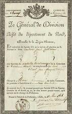 NAPOLEON'S GENERAL FRANCOIS RENE JEAN de POMMEREUL HATER of the NOBILITY