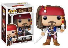Funko Pop Pirates of the Caribbean Captain Jack Sparrow 172 vinyl figure boxed